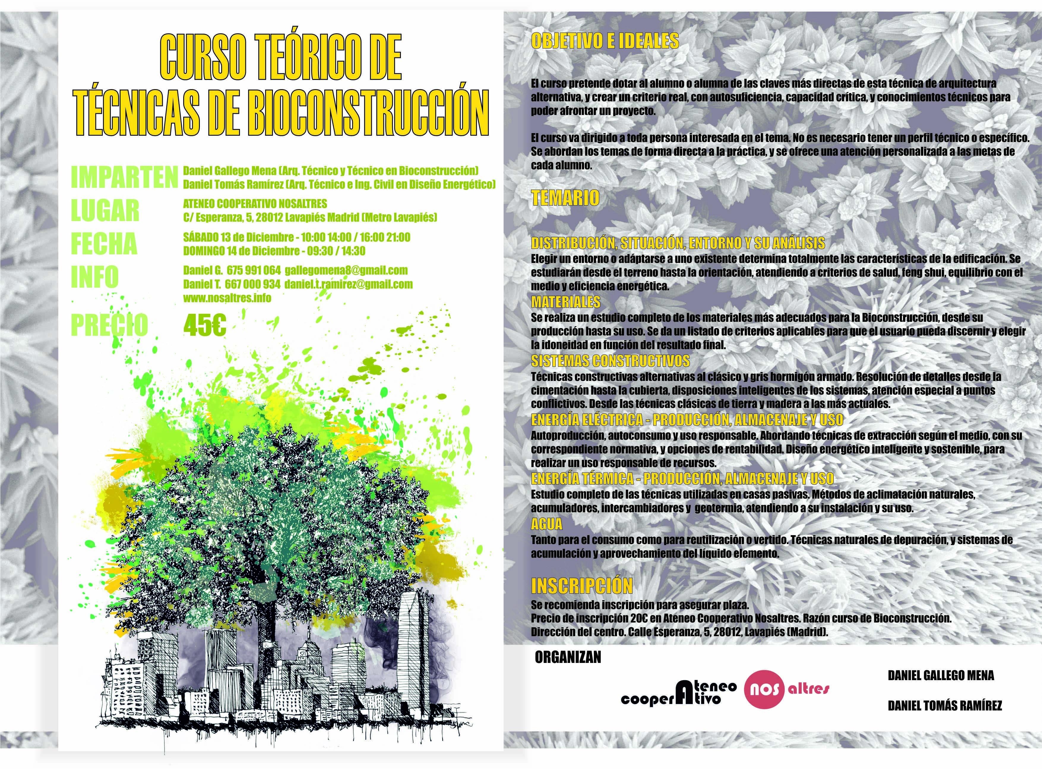 cartel online curso bioconstruccion nosaltres fb