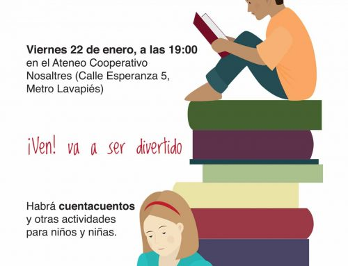 Presentación de libros infantiles «made in Lavapiés». ¡Ven, va a ser divertido!