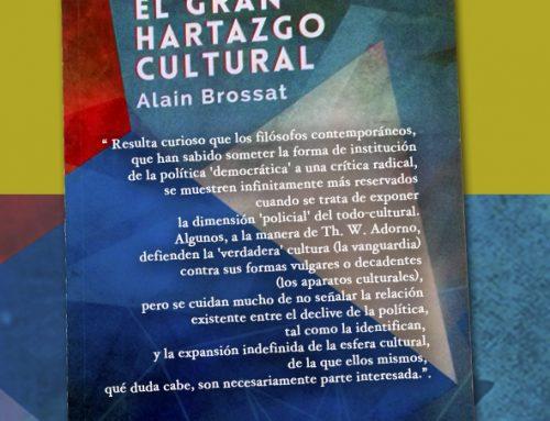Presentación del libro «El Gran Hartazgo Cultural» en el Ateneo Cooperativo Nosaltres