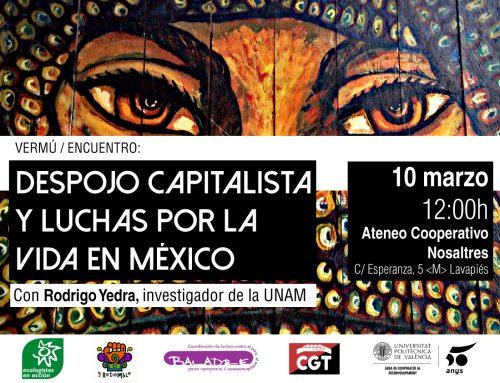 Vermú/Encuentro: Despojo Capitalista y Luchas por la Vida en México.