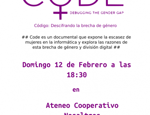 Proyección de CODE: Debugging the Gender Gap
