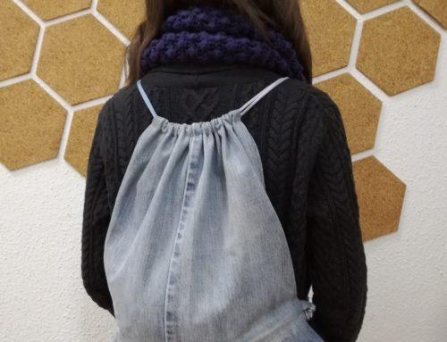 Taller de reciclaje textil CÓSETE TU MOCHILA SACO 25-nov.